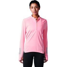 adidas Response Hardloopshirt lange mouwen Dames roze